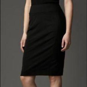 NWOT Burberry London Midi Skirt